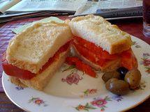 Heirloom Tomato Sandwich | Good Food | Pinterest
