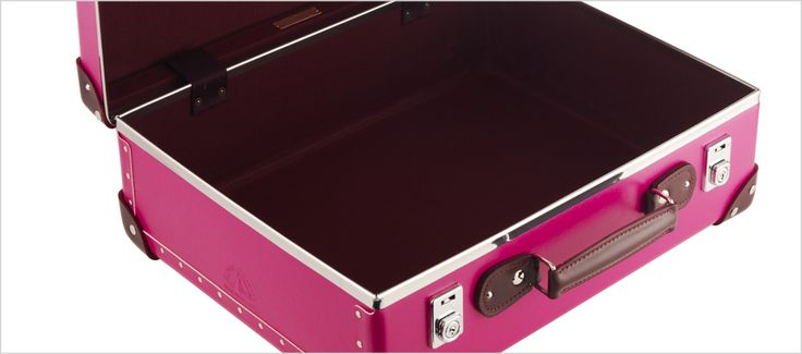 Globetrotter 1897 - limited edition Candy  Luggage (pink leather)