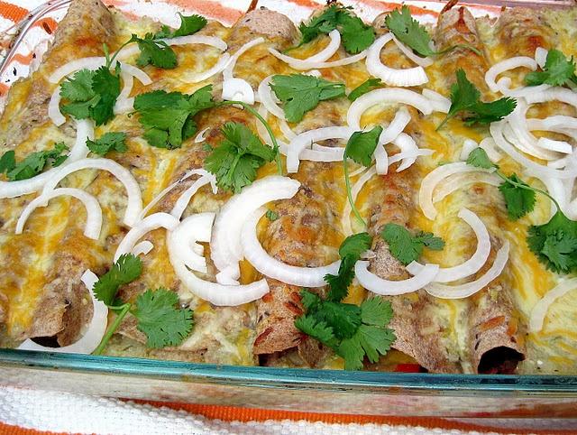 Roasted Vegetable Enchiladas | Dish it up | Pinterest
