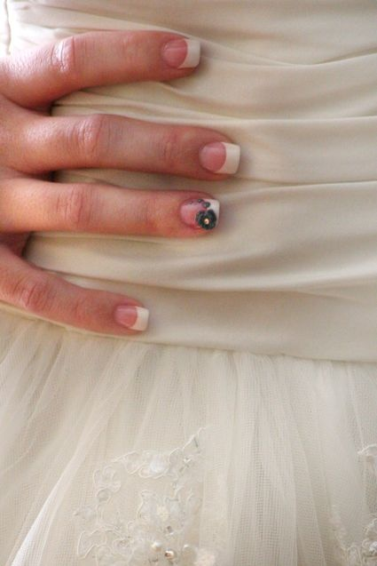 common lately # wedding # albuquerque # nails # nail design # nail art