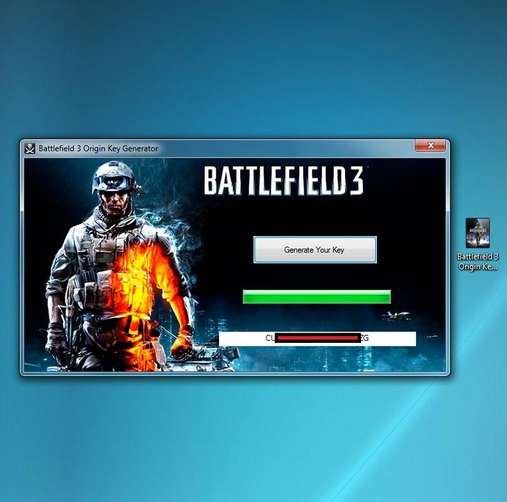 В архиве будет еще список ключей, генератор ключей для Battlefield 3.