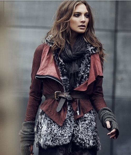 outfit inspiration - fall winter layered look