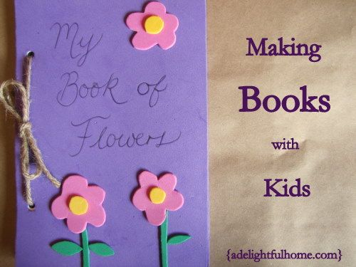 Making Books with Kids: pinterest.com/pin/103934703870523760