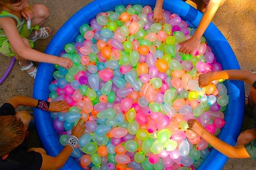 Water balloons!!!