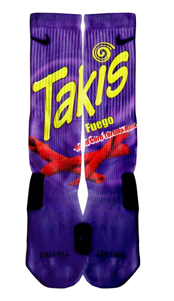 Takis custom nike elite socks for Custom elite
