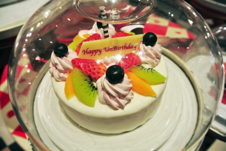 ... cake for your birthday. Found at QUEEN OF HEARTS Banquet Hall, Tokyo