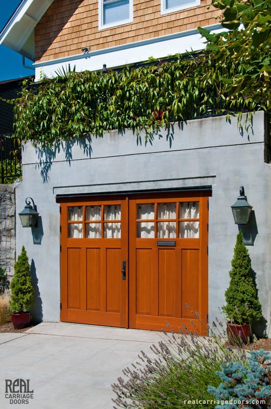 Craftsman carriage doors for the garage favorite places amp spaces