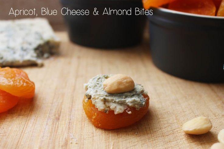 Apricot, Blue Cheese + Almond Bites   Bon Apetit   Pinterest