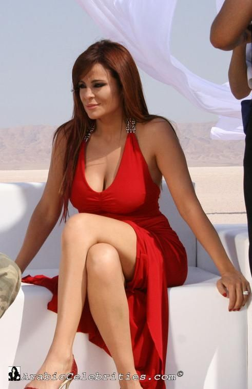 Lebanon arab actress marwa nip slip