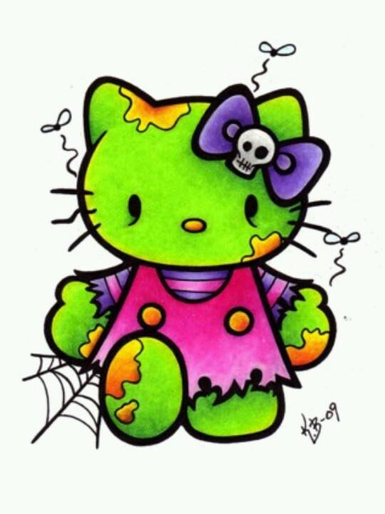 Hello kitty halloween hello ween pinterest - Hello kitty halloween ...