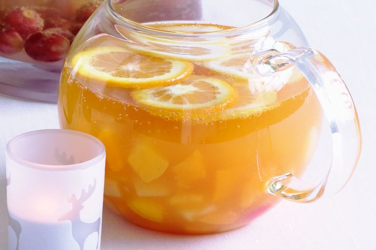 , Orange and Ginger Punch. Fruit Salad Punch. With a splash of rum ...