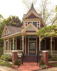 House in historic newnan ga historic newnan georgia for Home builders newnan ga