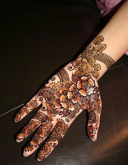 Nice Mehndi Patterns : Mehndi designs very nice makedes