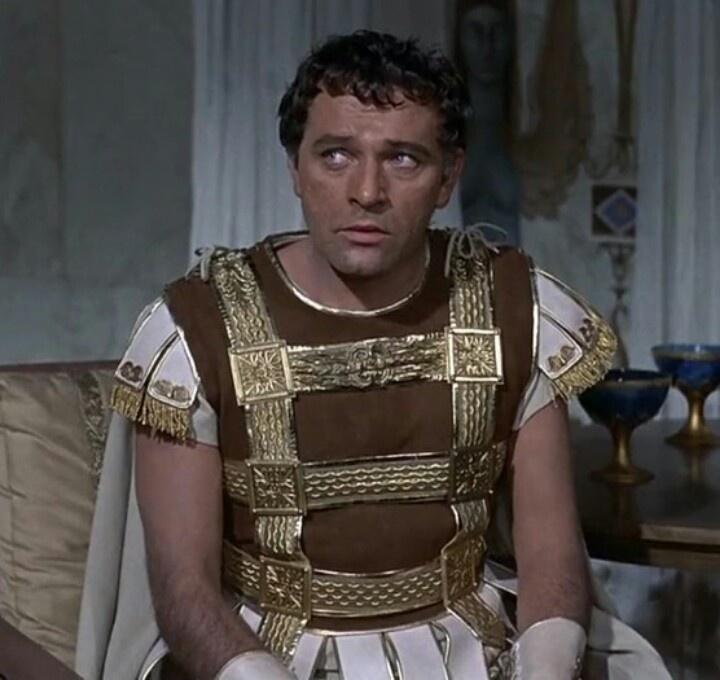 Richard Burton - Cleopatra | Cinema celebrities | Pinterest Richard Burton Cleopatra