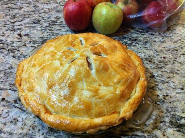 Grandma Ople s Apple Pie Supposedly the best recipe around...I believe ...