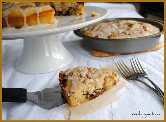 Cinnamon Cinnabon Cake | Recipe