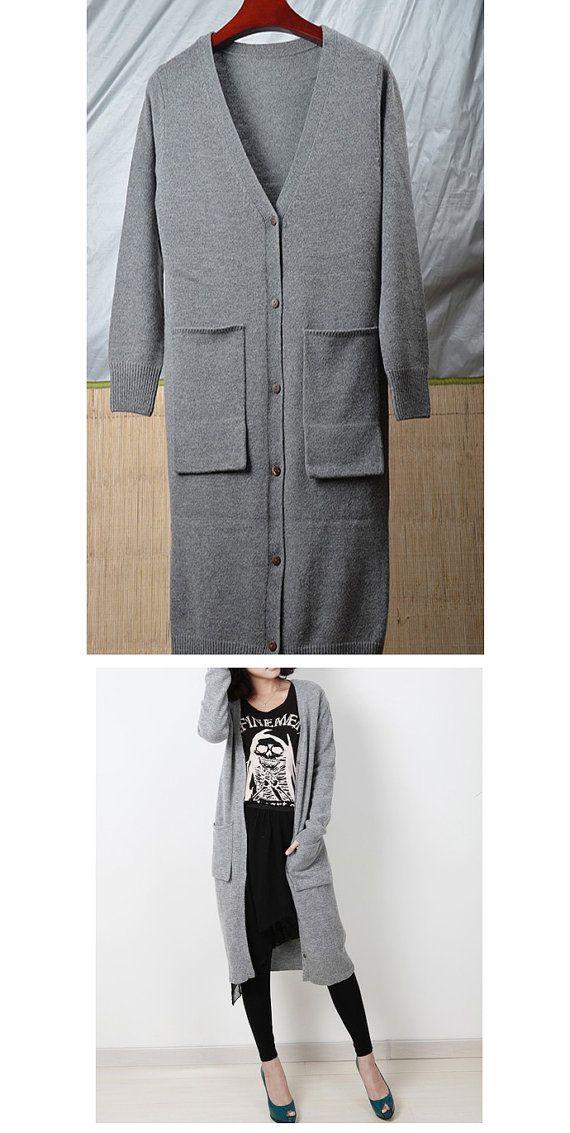 Extra Long Sweater Coat 30