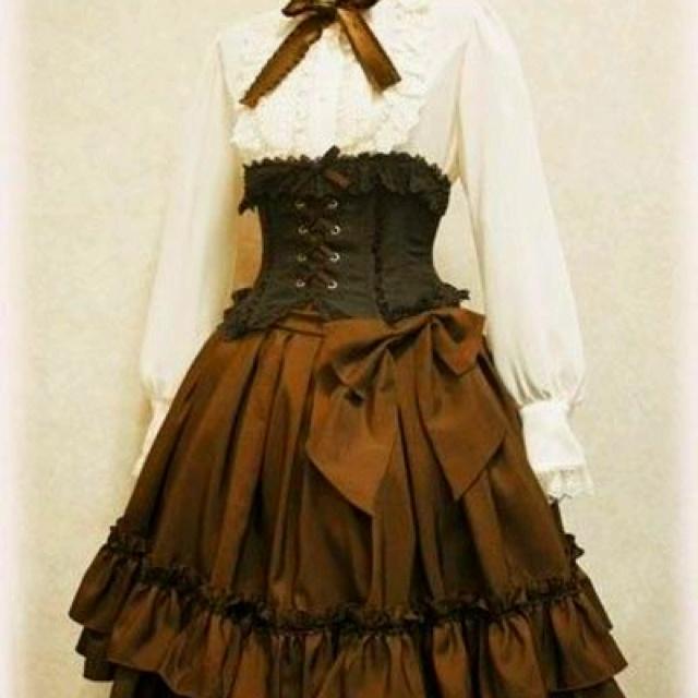 Victorian steampunk dress | Etsy DE