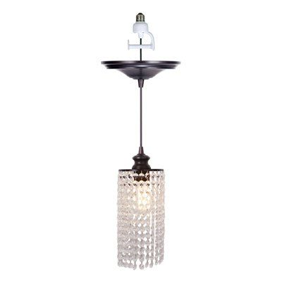 replace the existing recessed light bulb by screwing in the pendant. Black Bedroom Furniture Sets. Home Design Ideas