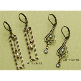 Art Nouveau Earrings | earrings/jewelry | Pinterest