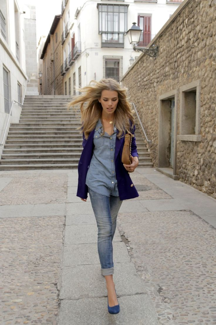 Mirian Pérez, nuestra blogger Honeydressing, apuesta por un 'total look' vaquero para estos días de otoño. ¿Qué te parece?