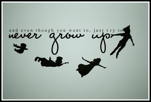Peter Pan Quotes About Growing Up  Quotes About Growing Up Peter Pan
