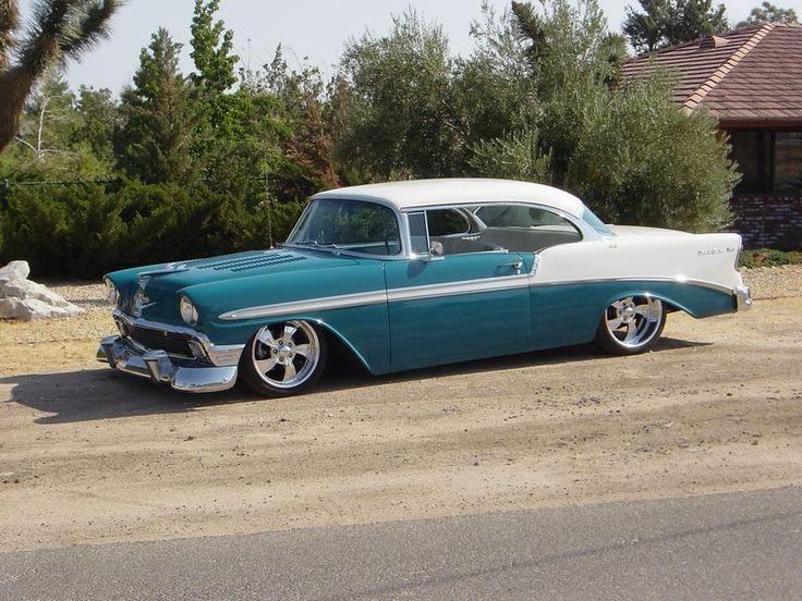 56 Chevy Belair For Sale 56 Bel Air Hardtop   wheels   Pinterest