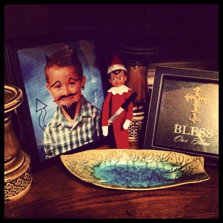 Elf on the Shelf | mischievous elf | Holiday ideas:: Christmas | Pint ...