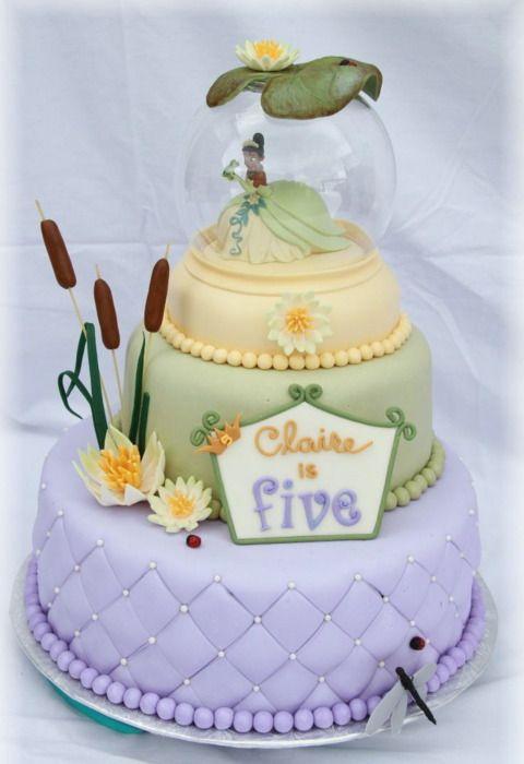princess and the frog birthday cake
