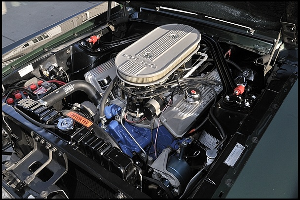 1967 Shelby GT500 Fastback  428/355 HP, 4-Speed
