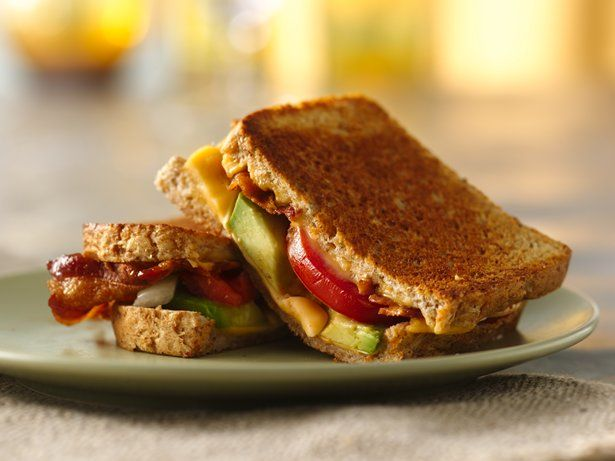 Bacon, Tomato and Avocado Grilled Cheese | Recipe