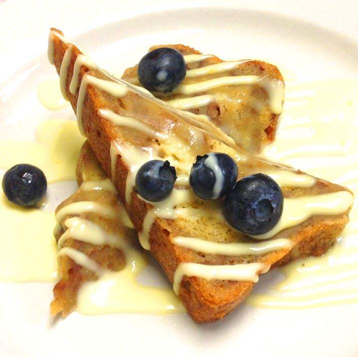 Dessert: Maple-Walnut Bread Pudding with Orange Crème Anglaise ...