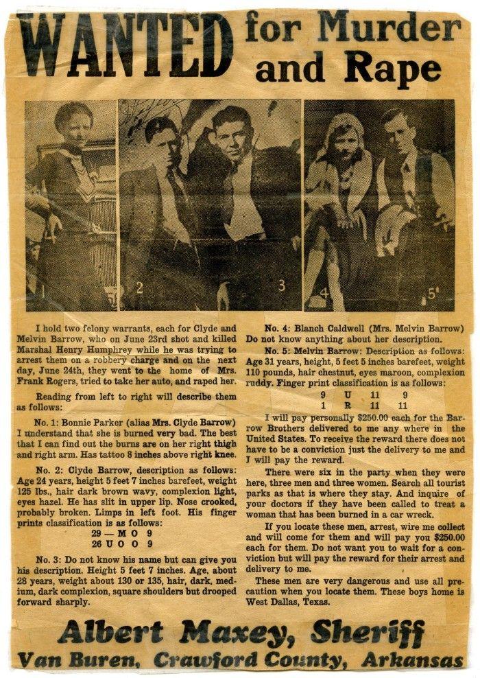 Bonnie & Clyde* - Danksagungskarte zur Hochzeit