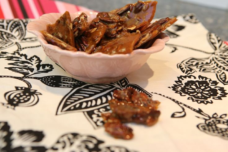 butter pecan and pumpkin seed brittle | Martha Starfish (my blog) | P ...