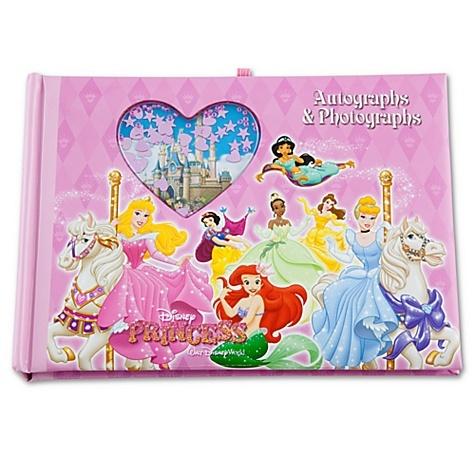 walt disney world disney princess autograph book and photo