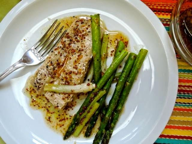 Barely-Cooked Asparagus With Lemon-Mustard Vinaigrette ...