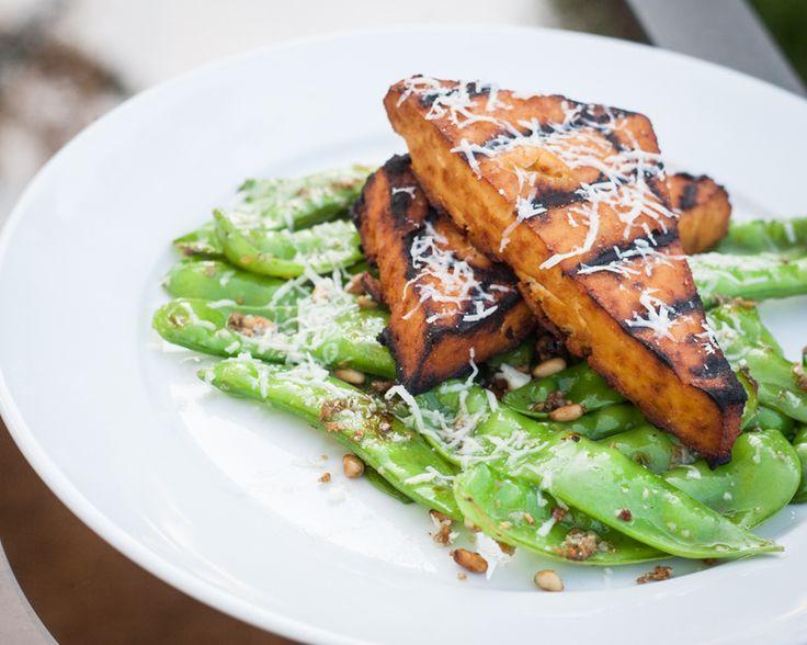 Grilled Sriracha Tofu Steaks | Vegan Wonderfulness! | Pinterest