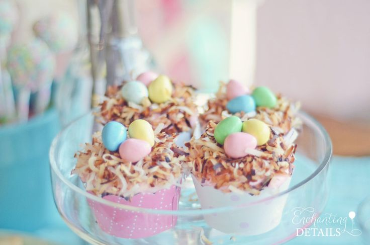 Sweet Treat Tuesday:: Toasted Coconut Nest Cupcakes