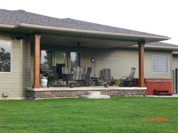 Back porch designs with hot tube joy studio design for Back porch design ideas