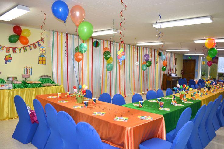 Birthday party decorations  Birthdays  Pinterest