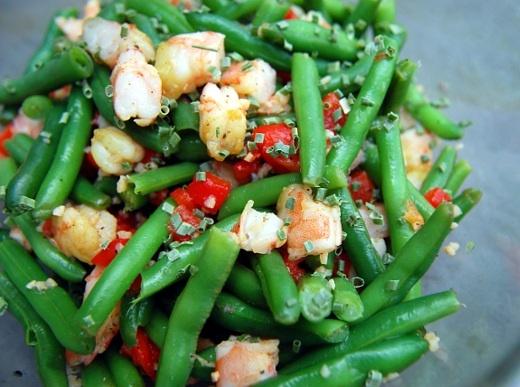 Shrimp & Green Bean Salad..... | Yum! | Pinterest