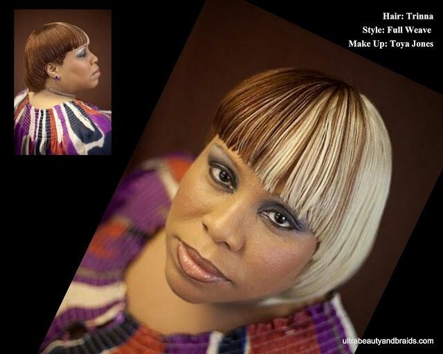 Full sew in weave | Weave Hairstyles | Pinterest