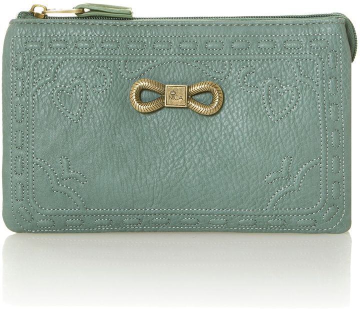 Nica Mandy green small cross body bag sur shopstyle.fr