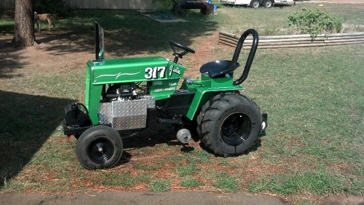 My Garden Pulling Tractor Farm Equipment Pinterest
