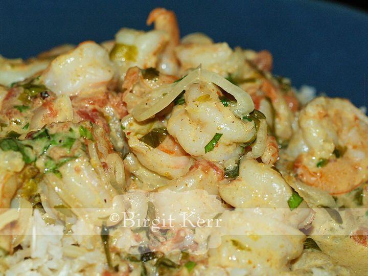 Spicy Coconut Shrimp Shirataki | Main Dishes | Pinterest