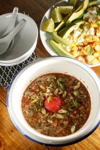 Watermelon and Tomato Gazpacho http://www.memphisflyer.com ...