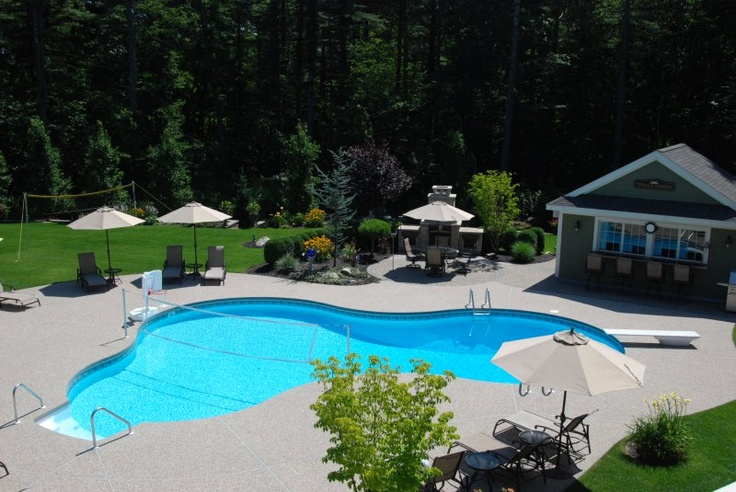 Pin by michelle hollandsworth on inground swimming pools for Salt water pool