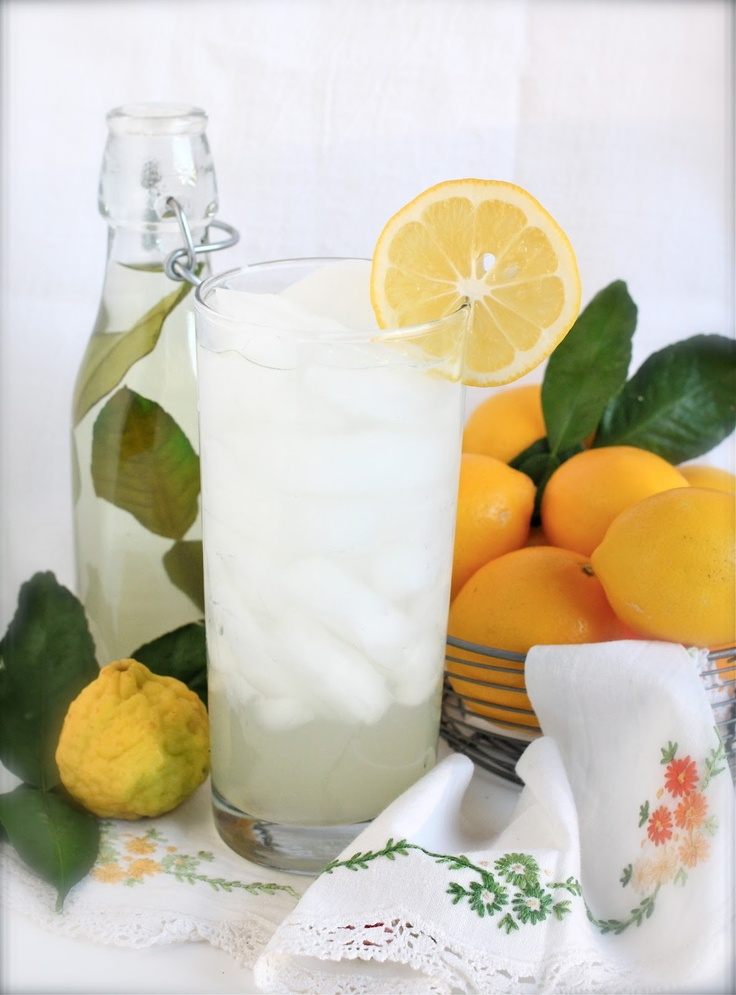 Kaffir Lime and Meyer Lemonade, adapt the recipe and make one really ...