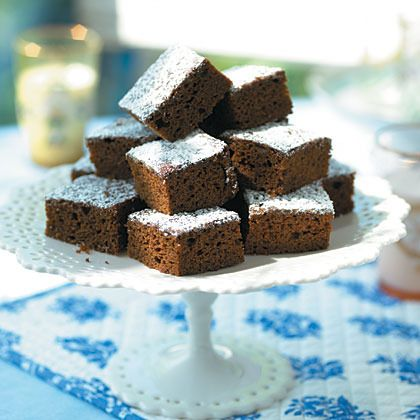 Gingerbread Squares by Cooking Light | Christmas | Pinterest