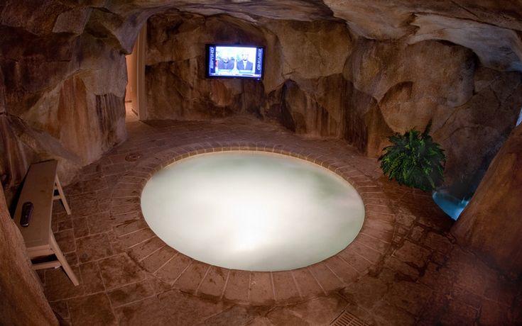 Indoor Hot Tub Makin 39 It Rain Lol Pinterest